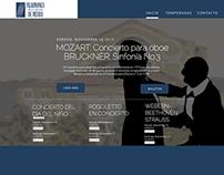 WEB: Orquesta Filarmónica de la Ciudad de México