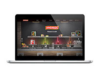 Andros Beverage - Website