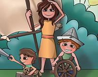 Ilustraciones para Portada