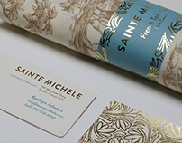 Sainte Michele Textile Design Stationery