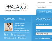 : Job portal - layout proposal