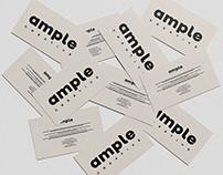 Ample Creative — Logo Design / Rebrand — byDBDS®