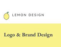 Lemon Design Logo and Branding