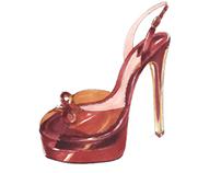Shoe Illustrations - Freelance