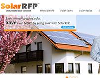Design/Wireframe for SolarRPF