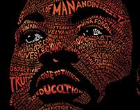 MLK Word Illustration
