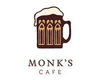 Monk's Cafe Rebranding