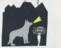 El Perro Que Deseaba Ser Humano (Poster)