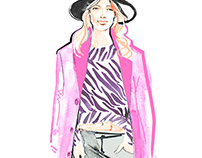 Street Style Fashion Illustrations