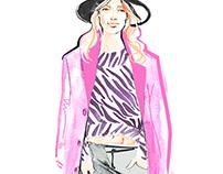 Street Style Fashion Illustrations