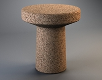 Furniture (Various) with CORK MATERIAL COLLECTION