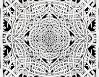 Mandala Papercutting Digital
