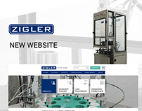Zigler - responsive website