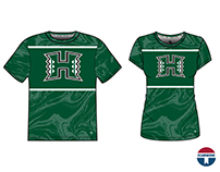 Hawai'i Ripple Collection-2017/18 Athletic Leisure Wear