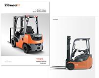 Toyota Material Handling (TMH) Brochures