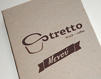 Stretto Coffee Shop Menu
