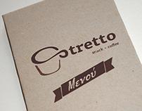 Stretto Coffee Shop Menu