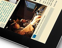 Concept - Berklee iPad prospectus