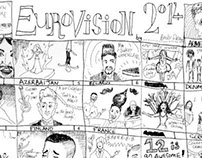 Eurovision 2014 Speed Drawing