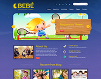 BeBe Responsive WordPress Theme