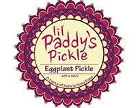 Lil Paddy's Pickle Packaging Design