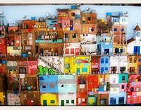 Maquete - O Morro, a Favela