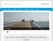 Daos WordPress Theme