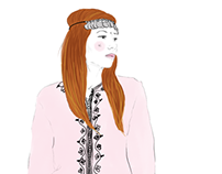 "Illustration de la blogeuse: ""Fashion Bakchic"""