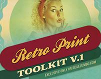 Retro Print Toolkit v.1