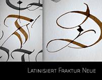 Latinsiert Fraktur Neue