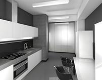 Дизайн кухни в офисе.