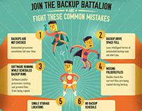 :::BackUp Battalion infographic::
