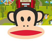 Paul Frank Stickers Series for Kik Messenger