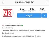 Criação do Instagram Zig POSTERMAN Brasil