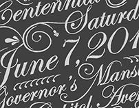 Kentucky Governor's Gala Invitation