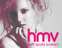 HMV Inspirational Quote Posters