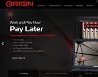 ORIGINPC.com v3 -Bootstrap Web Design / Development