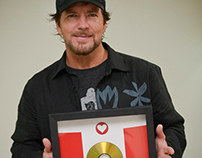 Pearl Jam - Gold Award