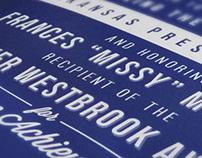 2013 Arkansas Preservation Awards Invitation