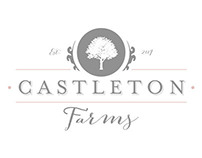 Castleton Farms Branding with Website Design