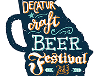 Decatur Beer Fest Logo Comp