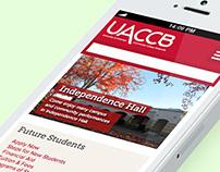 UACCB.edu Responsive Website Design
