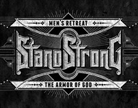 "Custom Lettering ""Stand Strong"""