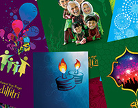 Aidilfitri Greeting Cards