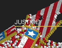 Justice Poster: Typeface Design