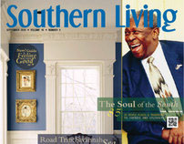 Southern Living Redesign (Class Assignment)