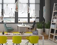 loft small office