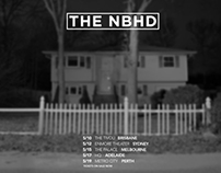The NBHD Tour Posters