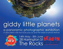 giddy little planets exhibition