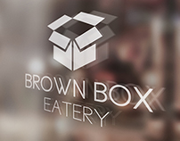 Brown Box Eatery Logo Development